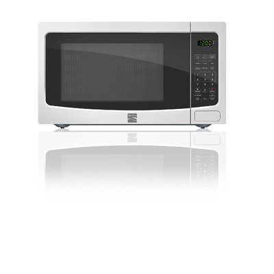 Kenmore White 1.1 Cubic Foot Kenmore Countertop Microwave - MIDEA USA, INC.