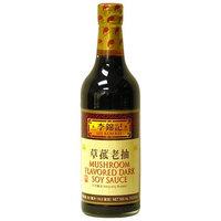 Lee Kum Kee Mushroom Flavored Dark Soy Sauce, 16.9-Ounce Glass Bottles (Pack of 2)