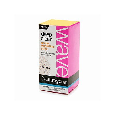 Neutrogena® Wave Deep Clean Gentle Exfoliating Pads
