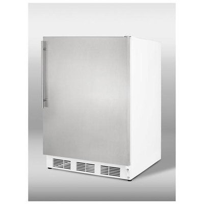 Summit CT66JSSHV 5.1 Cu. Ft. Stainless Steel Undercounter Compact Refrigerator