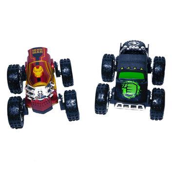 Playmakers Group Regenerators Hulk and Iron Man 1/24 Scale Car Set