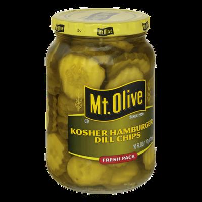 Mt. Olive Kosher Hamburger Dill Chips Fresh Pack