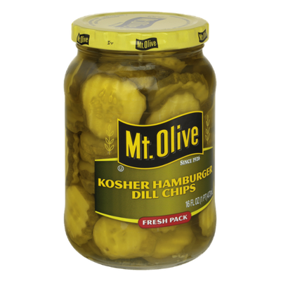 Mt. Olive Kosher Hamburger Dill Chips Fresh Pack