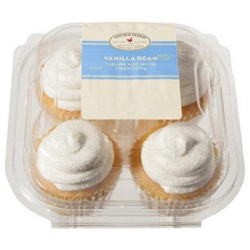 Archer Farms Vanilla Bean Cupcakes with Vanilla Cream Filling 4 ct