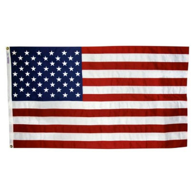 Annin NYL-GLO ColorFast US Flag - 5X8'