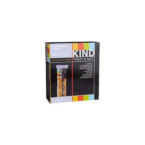 KIND® Fruit & Nut, Macadamia & Apricot, All Natural, Gluten Free Bars