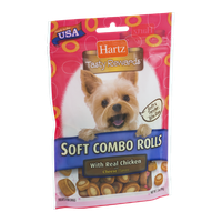 Hartz Tasty Rewards Soft Combo Rolls with Real Chicken and Cheese Flavor