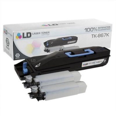 Kyocera Mita TK-867K Toner Cartridge - Black