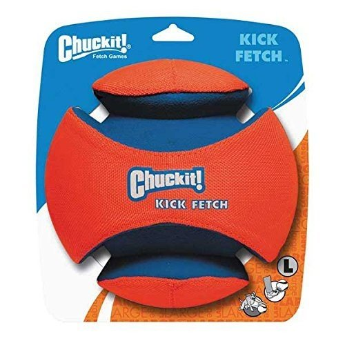 Canine Hardware Chuckit Kick Fetch Toy Ball for Dogs