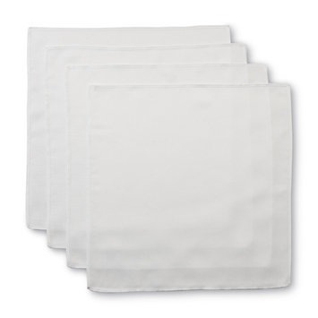 Essential Home 4 Pack Textured Cloth Napkins - JOY YOU INDUSTRIAL CORP