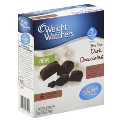 Russell Stover 5.25 oz WHITMAN'S Dark Chocolate Dark Chocolate Candy