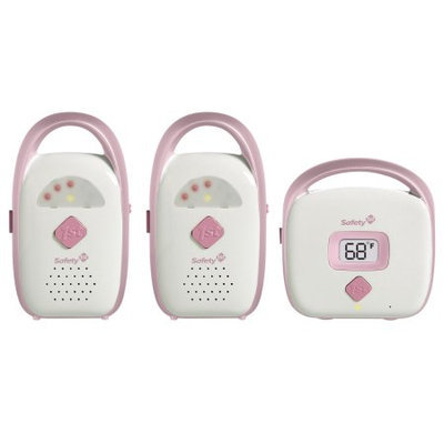 Safety 1st® Glow & Go Duo Monitor - Pink (2 Receivers)