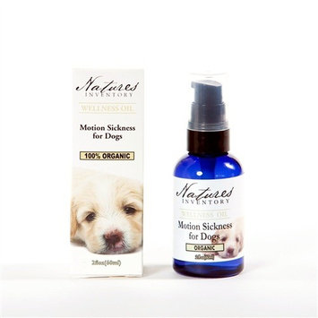 tures Inventory Motion Sickness For Dogs Wellness Oil Nature's Inventory 2 fl oz (60ml) Liquid
