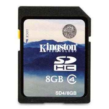 Kingston KR-C088G-2M SDHC Flash Card - 8GB, Class 4, 4MB/s, FAT32, Plug & Play