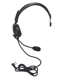 KENWOOD KHS-7 Headset, Over the Head, On Ear, Black
