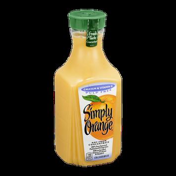 Simply Orange Pulp Free Orange Juice Calcium & Vitamin D