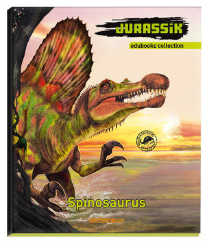 Geo World Jurassic Edubooks Spinosaurus