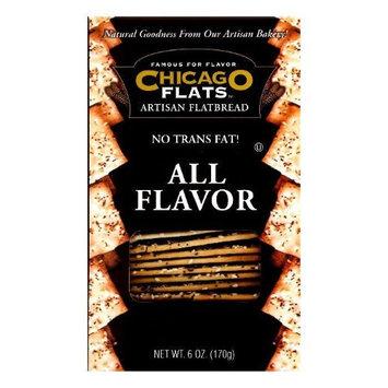 Kehe Distributors CHICAGO FLATS 227381 CHICAGO FLATS FLATBREAD ALL FLAVOR - Case of 12 - 6 OZ