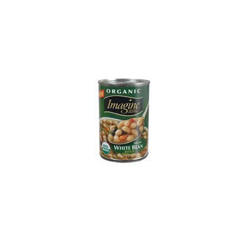 Walnut Acres Imagine Natural Creations Organic Tuscan White Bean Soup, 14.5-Ounce Cans (Pack of 12) ( Value Bulk Multi-pack)