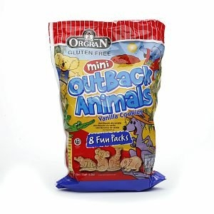 Orgran Mini Outback Animals Snack  Packs