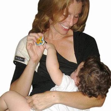 Baby Bond Designer Slurp & Burp With Sewn In Burpcloth S-M, Black, 1 ea
