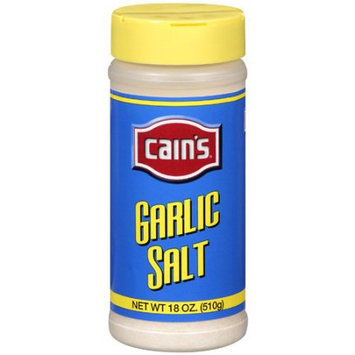 Cain's: Garlic Salt, 18 Oz