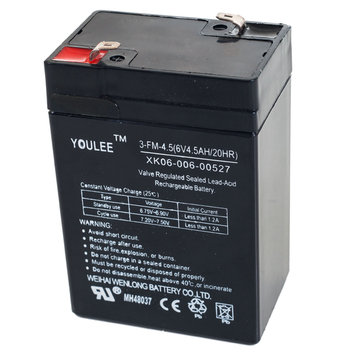 Lil Rider 6 Volt Rechargeable Battery For Models KB901 & YJ119