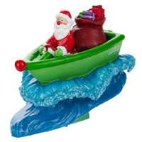 Top FinA PetHoliday Santa SS Sleigh Aquarium Ornament