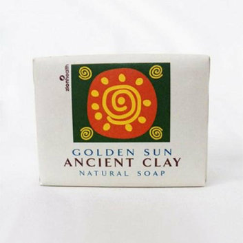 Zion Health Clay Bar Soap Golden Sun 10.5 oz