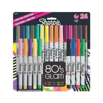 Sharpie 32893PP Ultra-Fine Point Permanent Marker, Assorted Colors, 24-Pack [Assorted Colors, 1] [{
