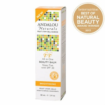 Andalou Naturals All in One Beauty Balm Sheer Tint SPF 30