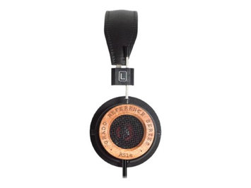 Grado RS1e Dynamic Open-Air Supra-Aural Stereo Headphones, Black
