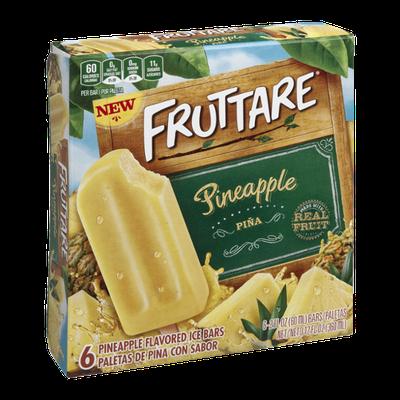 Fruttare Ice Bars Pienapple - 6 CT