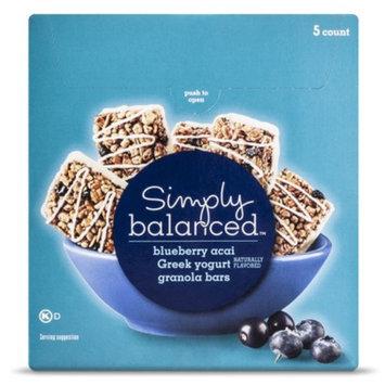 7 Ounce Simply Balanced Blueberry Granola Bars