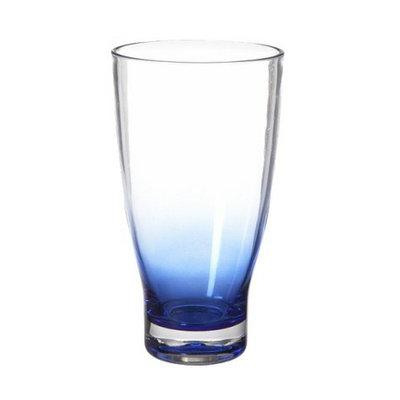 Diligence Inc Tall Acrylic Tumblers Set of 4 - Blue