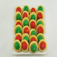 Walmart Christmas Thumbprint Cookies