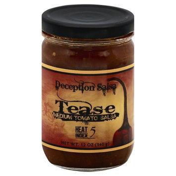 Deception Salsa Tease Medium Tomato 12 oz
