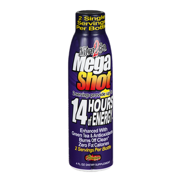 Nitro2Go Mega Shot Energy Drink Pomegrape