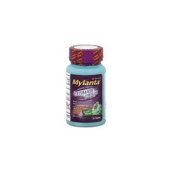Johnson & Johnson Mylanta Ultimate Strength Cool Mint (35 Tablets)