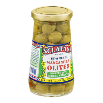 Sclafani Spanish Manzanilla Olives