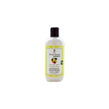 Deep Steep 0201DSI Orchard Pear & Fig Refreshing Body Wash, Pack of 12