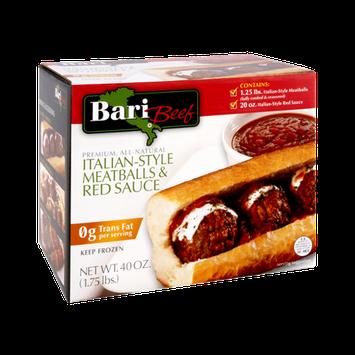 Bari Beef Italian-Style Meatballs & Red Sauce Kit