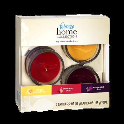 Febreze Home Collection Candle Trios
