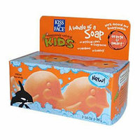 Kiss My Face Corp. Kiss My Face Kids A Whale of A Soap- Orange U Smart 3.5 oz Each / Pack of 2
