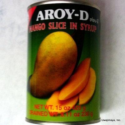 Aroy-D - Mango Slice in Syrup (Net Wt. 15 Oz.)