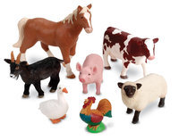 Learning Resources Jumbo Farm Animals - LEARNING RESOURCES, INC.