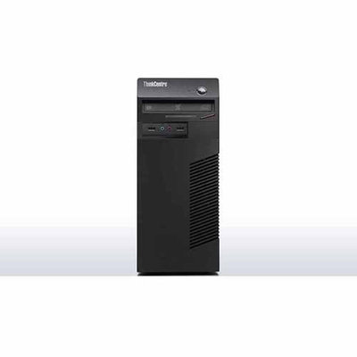 Lenovo ThinkCentre M79 10CN0000US Desktop Computer - AMD A-Series A4-6300 3.70 GHz - Tower - Business Black