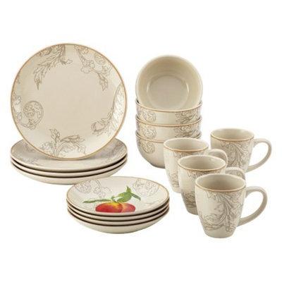 Bonjour Orchard Harvest 16 Piece Dinnerware Set