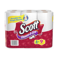 Scott® Towels Mega Roll Choose-A-Size White, 6 ct, 340.8 sq-ft