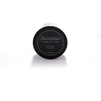 The Gentlemens Refinery 'UnScented' Shave Cream (150ml) All-Natural and Organic